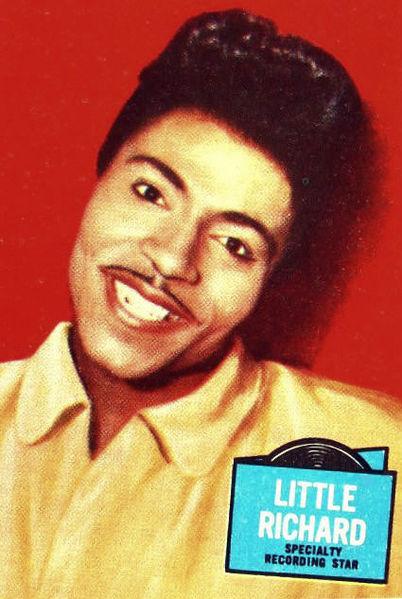 A colour portrait photo of Little Richard